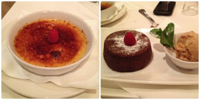 Bel canto dessert