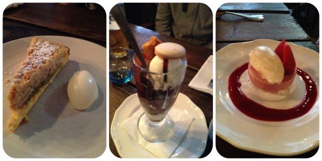 Desserts Riding House Café