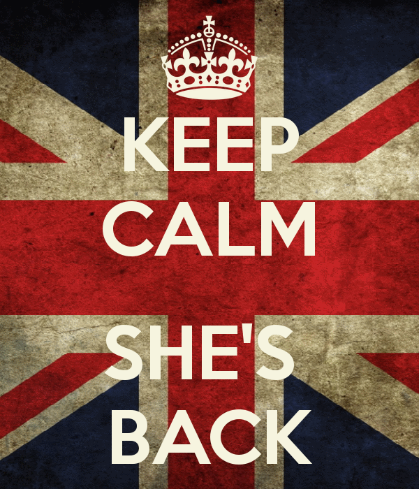 Keep calm she's